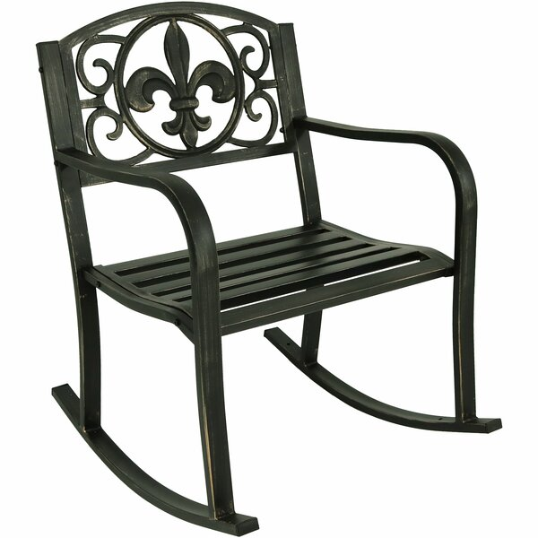 Zelda Patio Rocking Chair by Winston Porter