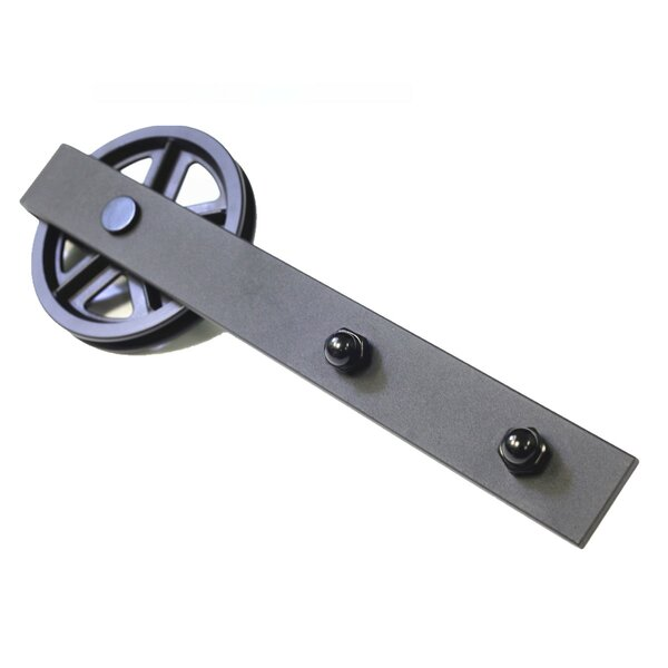 Single Wheel Barn Door Hardware by Vancleef