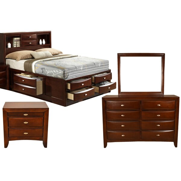 Corktown Platform 4 Piece Bedroom Set by Winston Porter