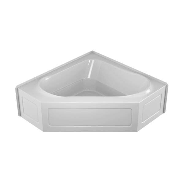 Capella 55 x 55 Skirted Soaking Bathtub by Jacuzzi®