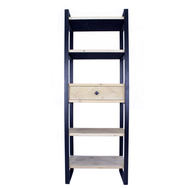 Jeffersonville 5 Shelf 1 Drawer Etagere Bookcase by Foundry Select