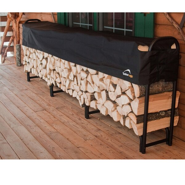 12 Ft. Heavy Duty Log Rack With Cover By ShelterLogic