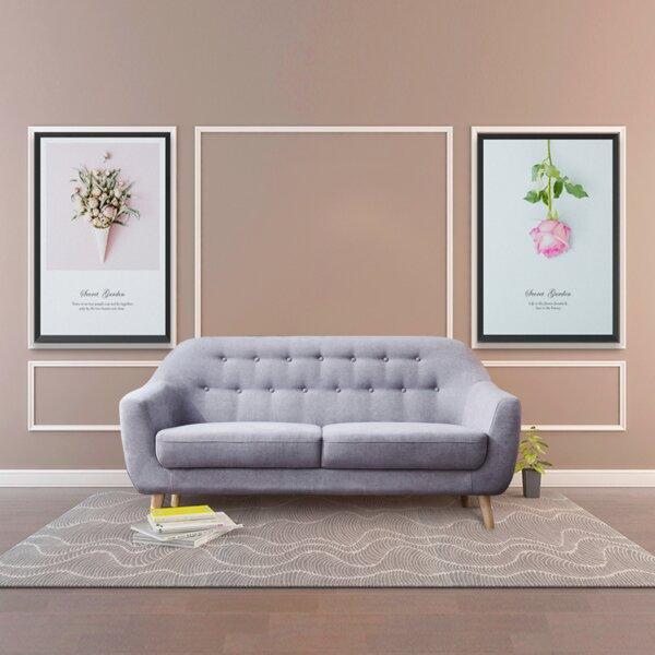 Senath 67'' Recessed Arm Sofa By George Oliver