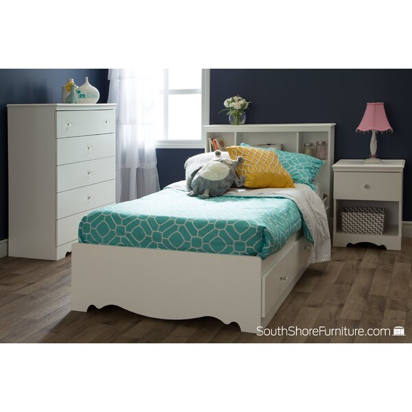 Crystal Twin Mates Bed with Storage by South Shore