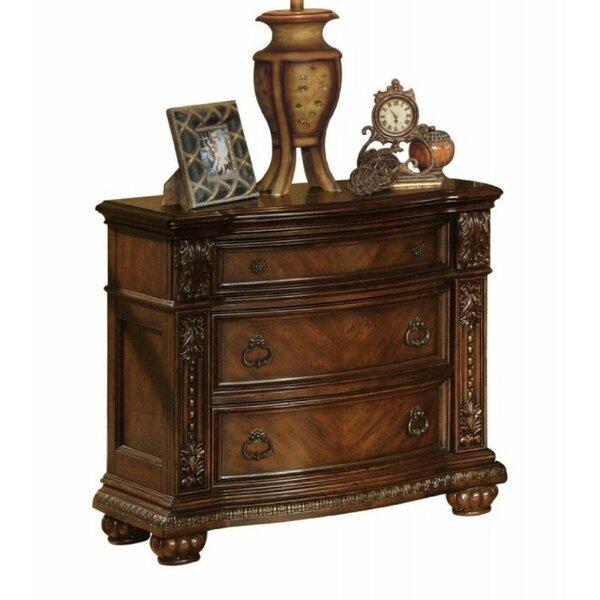 Warthen 2 Drawer Nightstand by Astoria Grand