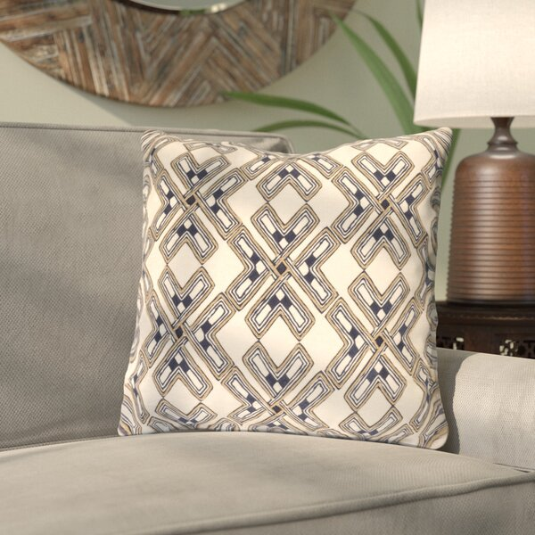 Andre Throw Pillow by Bloomsbury Market