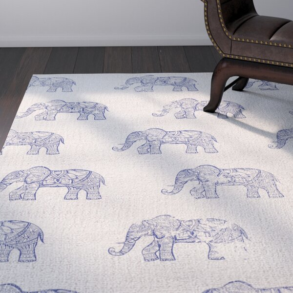 Netea Blue Area Rug by World Menagerie