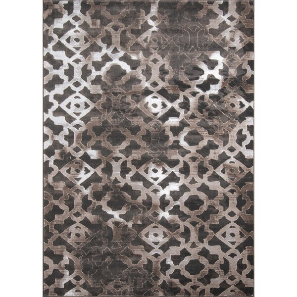 Ozzy Brown Area Rug By House Of Hampton.