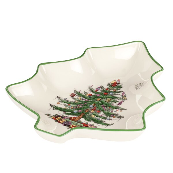 Christmas Tree Serve Tree Shape Dish by Spode