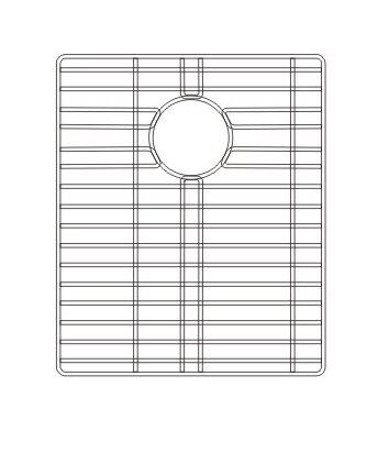 14.5 x 1 Sink Grid by Wells Sinkware