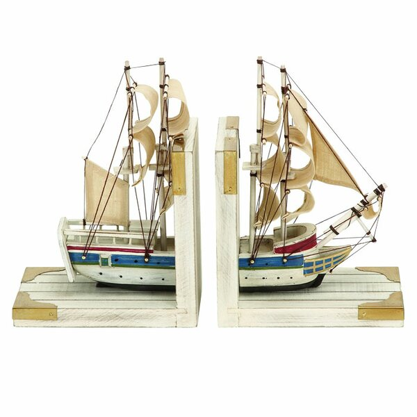 Nautical Bookend (Set of 2) by Three Posts