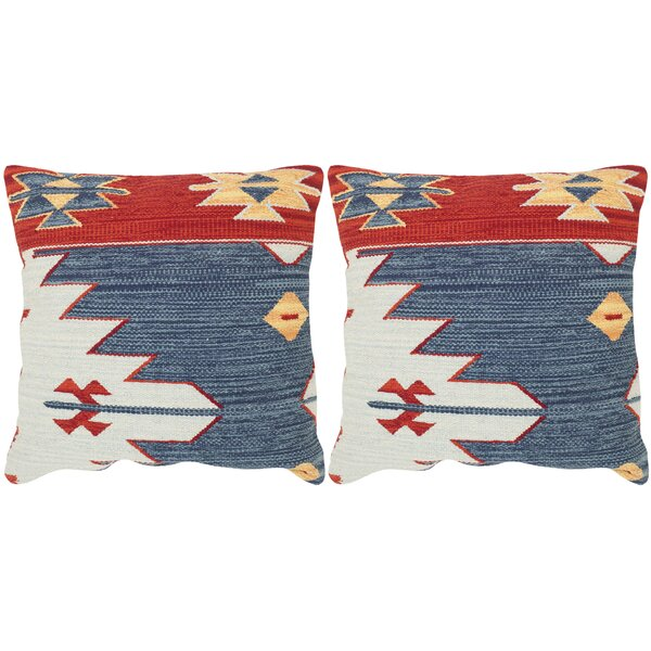 Pueblo Decorative Throw Pillow (Set of 2) by Safavieh