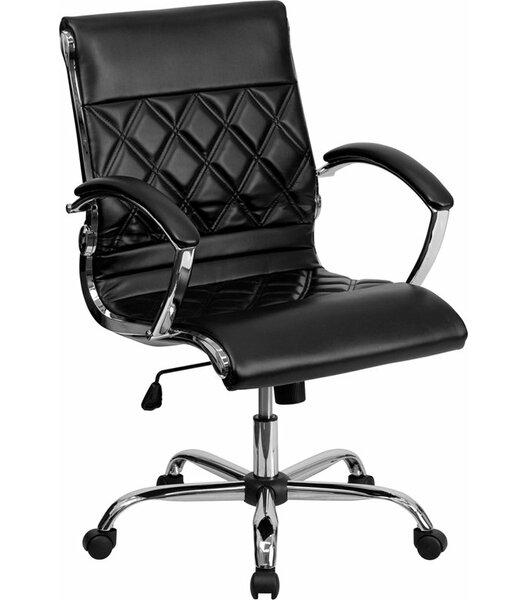 Whelchel Mid-Back Ergonomic Swivel Office Chair by Orren Ellis