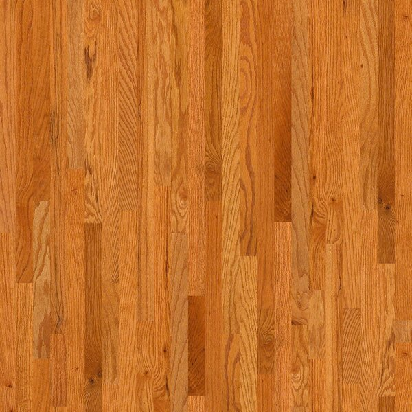 2-1/4 Solid Oak Hardwood Flooring in Caramel by Welles Hardwood