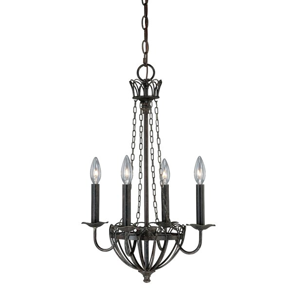 Flippen 4-Light Candle Style Empire Chandelier By August Grove