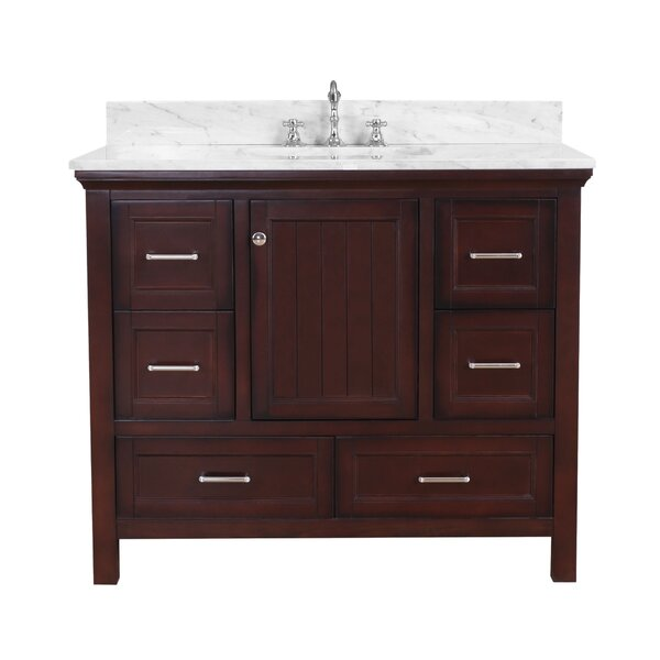 Paige 42 Single Bathroom Vanity Set by Kitchen Bath Collection