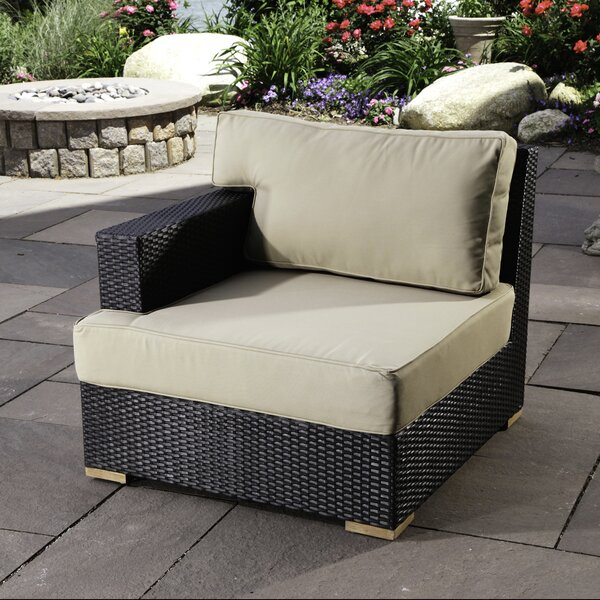 Salina Left Arm Chair with Cushions by Madbury Road