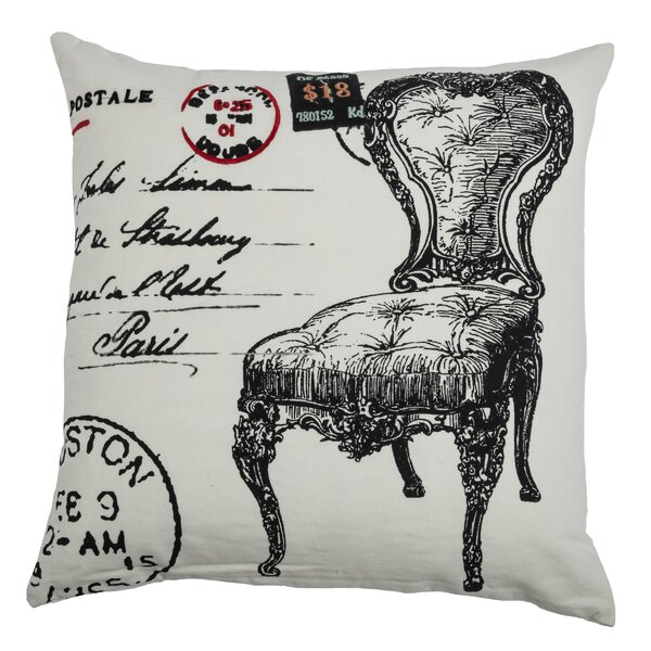 Charmain  Cotton Throw Pillow by Wildon Home ®