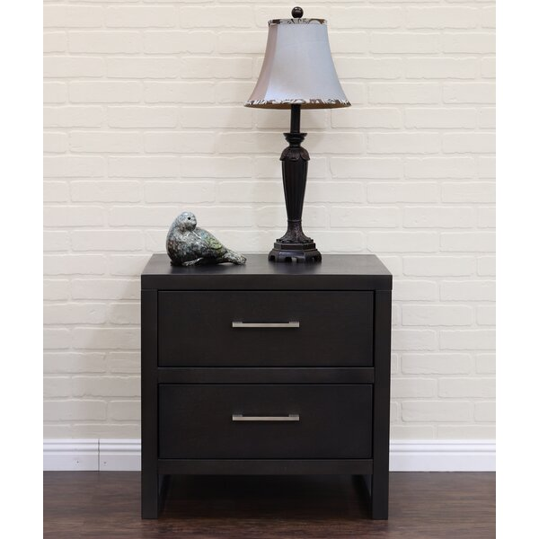 Midtown 2 Drawer Nightstand by Home Image