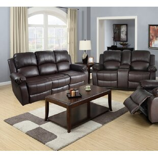 Develin 2 Pieces Reclining Living Room Set by Red Barrel Studio®