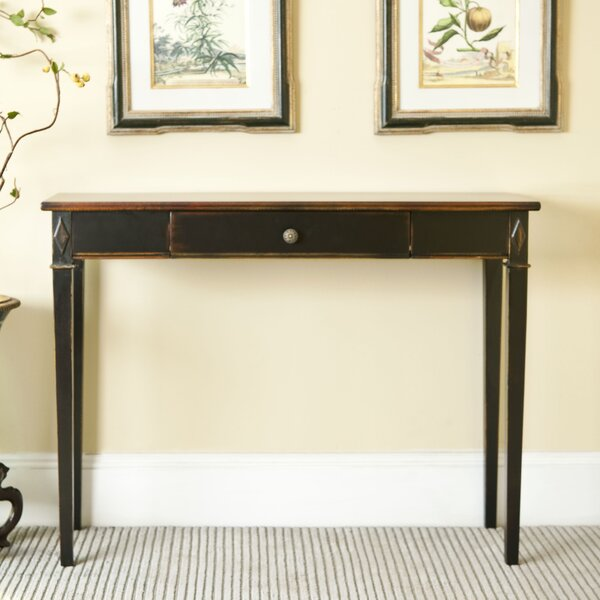 Lindy One Drawer Console Table by Safavieh