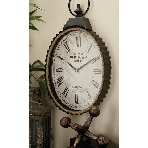 Rope Wall Clock by Cole & Grey| @ $69.99