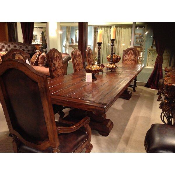 Majorica 7 Piece Extendable Dining Set By Benetti's Italia