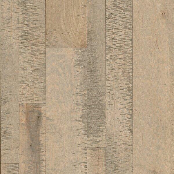Random Width Solid Maple Hardwood Flooring in Harbor Fog by Armstrong Flooring