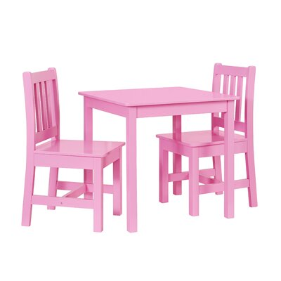 Viv + Rae Suri Kids\' 3 Piece Rectangle Table and Chair Set & Reviews ...