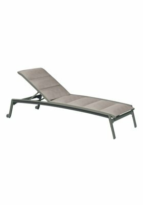 Elance Relaxed Sling Reclining Chaise Lounge by Tropitone