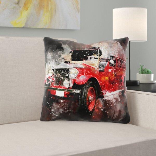 Shonta Vehicle Throw Pillow