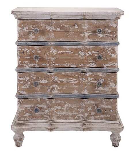 4 Drawer Accent Chest By Woodland Imports