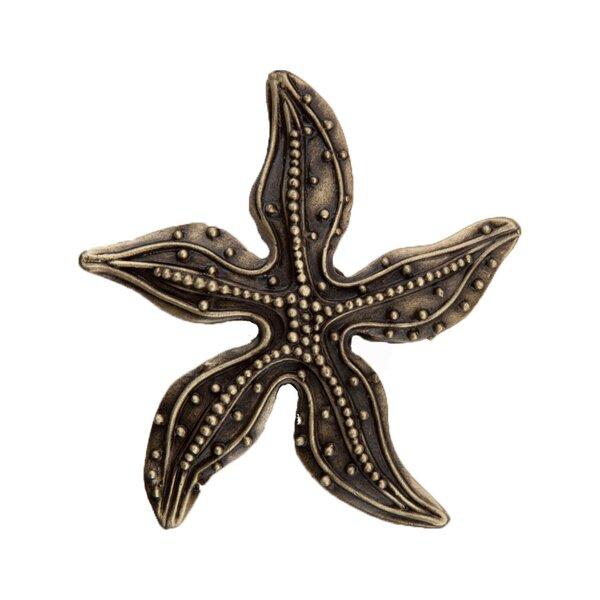 Beaded Starfish Novelty Knob by Acorn