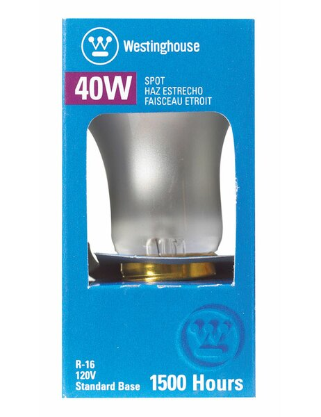 401W E26 Dimmable Incandescent Edison Spotlight Light Bulb by Westinghouse Lighting