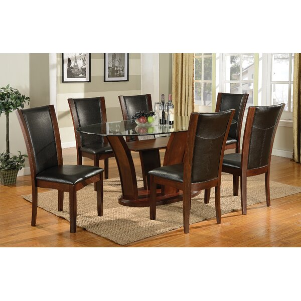 Bruening 7 Piece Wood Dining Set by Latitude Run Latitude Run
