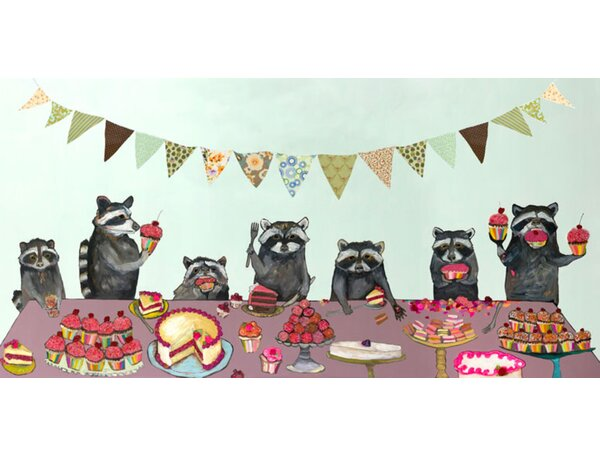 Johnathan Cupcake Party by Eli Halpin Canvas Art by Zipcode Design