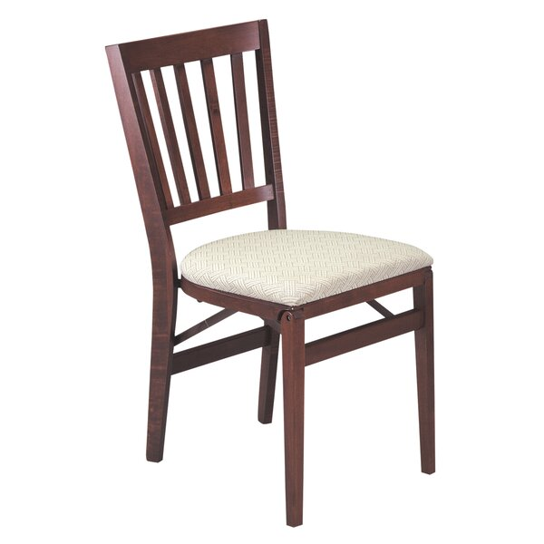 School House Upholstered Dining Chair (Set of 2) by Stakmore Company, Inc.