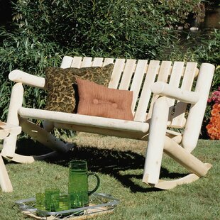 Outdoor / Indoor Cedar Rocking Chair Rustic Natural Cedar Furniture