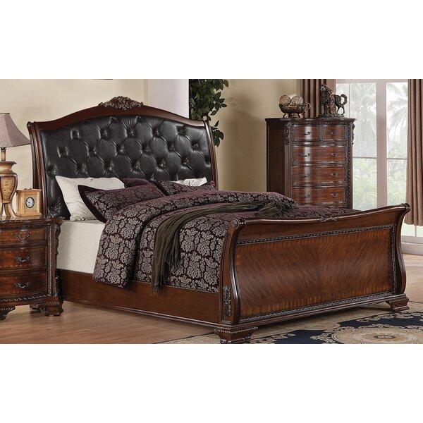 Farrington Upholstered Sleigh Bed by Astoria Grand