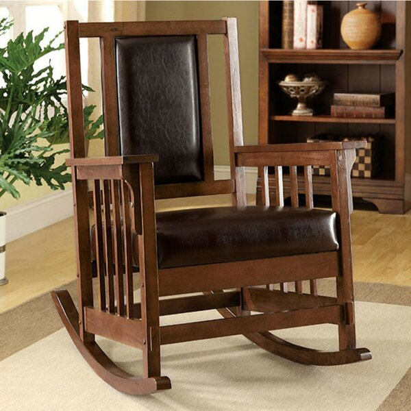 Bernd Transitional Rocking Chair by Darby Home Co