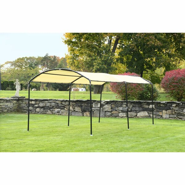 Monarc 10 Ft. W x 18 Ft. D Steel Canopy by Shelter