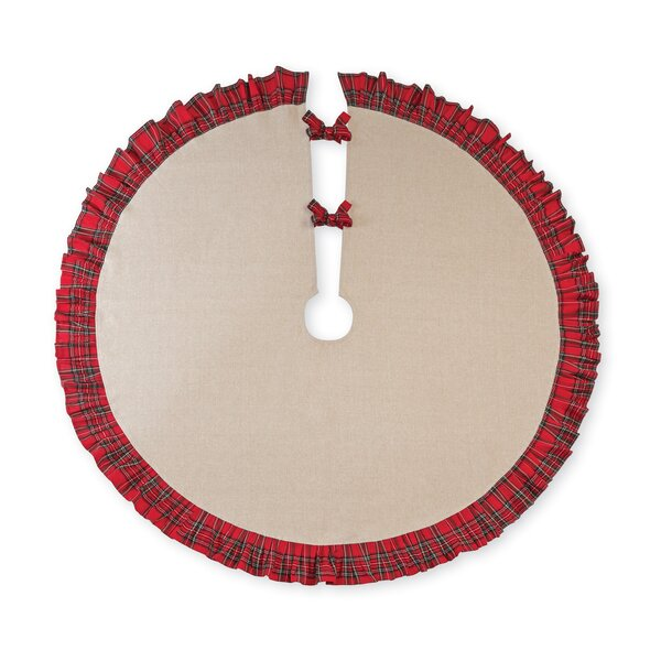 Tartan Ruffle Tree Skirt by Mud Pie™