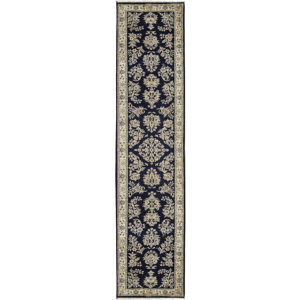 One-of-a-Kind Hand-Knotted Wool Blue Area Rug by Bokara Rug Co., Inc.