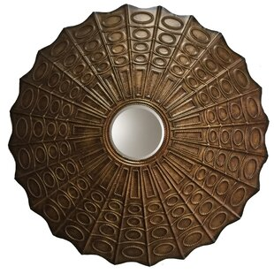 World Menagerie Parrish Transitional Convex Metal Wall Mirror