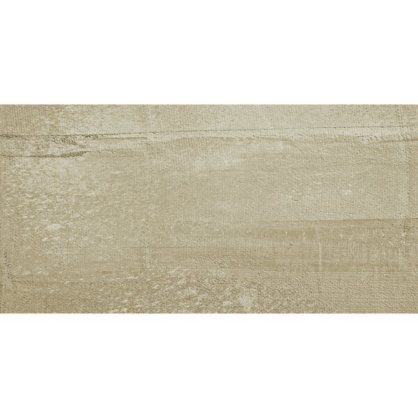 La Vie Boheme 24 x 24 Porcelain Field Tile in Tan by PIXL