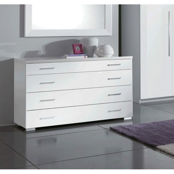 Cedrick 4 Drawer Dresser by Orren Ellis