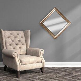 Alcott Hill Haddenham Square Framed Wall Mirror