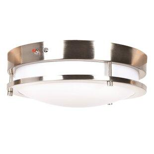 Shopping for Penning 1-Light LED Flush Mount By Latitude Run