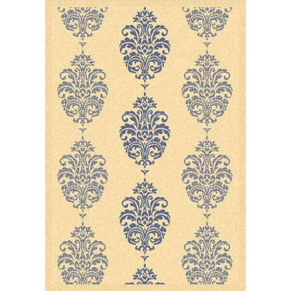 Herefordshire Natural / Blue Indoor/Outdoor Area Rug by Winston Porter