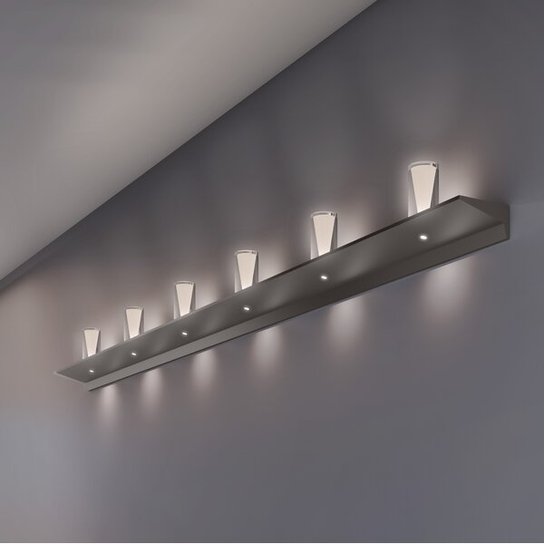 8-Light LED Bath Bar by Sonneman